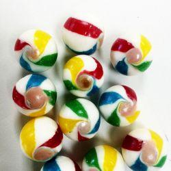 Esferas multicolores