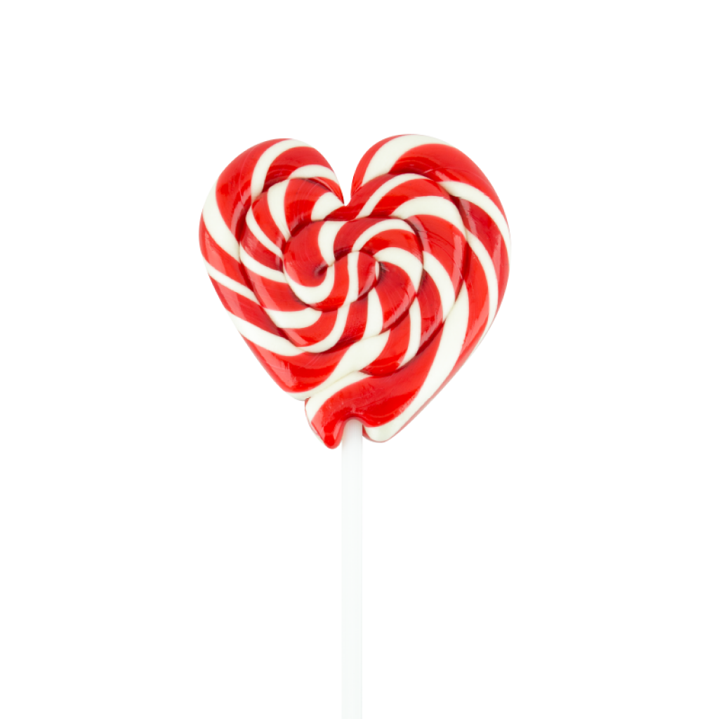 Paleta Corazón Rojo