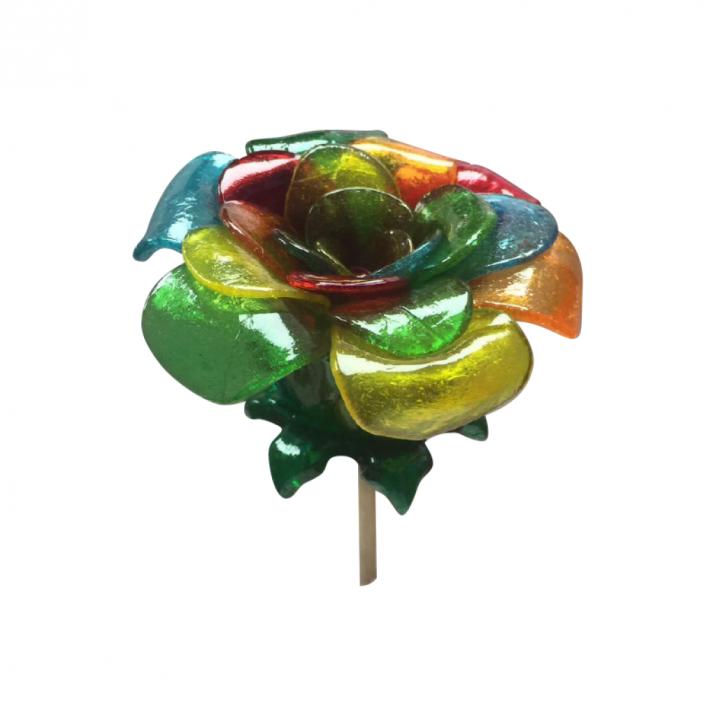 Flor multicolor