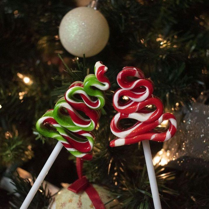 Caramelos con diseños navideños